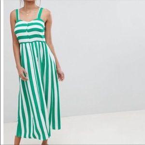 ASOS Striped Maxi